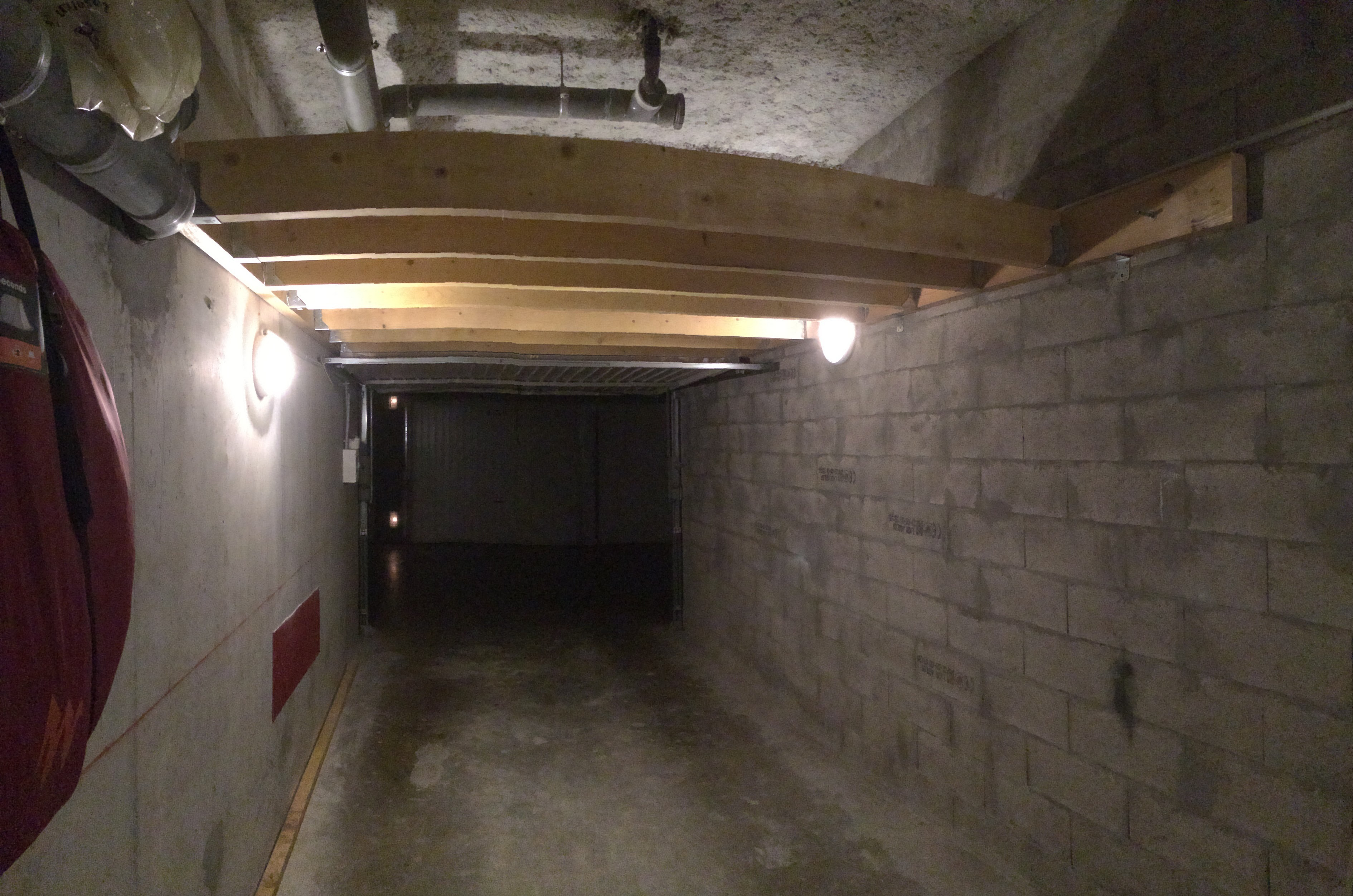 Articulated To Be D Under The Mezzanine When I Do Not Use It So That Can Still Park My Car Which Is Main Goal Of A Garage After